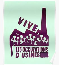 mai68-revolution-live-factory occupations Poster