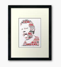 Ryan Giggs - Manchester United Framed Print