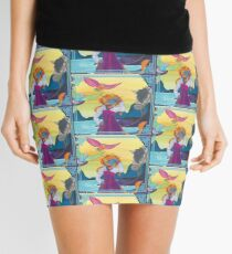 Journey to the Past Mini Skirt