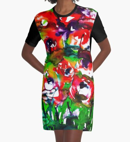 BAANTAL / Pollinate / Lust #2 Graphic T-Shirt Dress