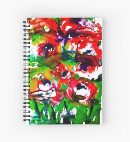 BAANTAL / Pollinate / Lust #2 Spiral Notebook