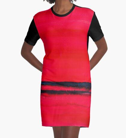 BAANTAL / Lines #2 Graphic T-Shirt Dress