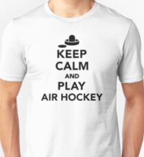Keep calm and play Air hockey T-Shirt