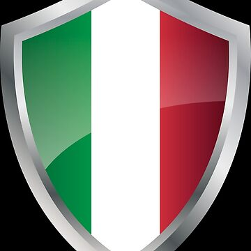 Italy flag flag coat of arms by MacOne