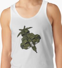 Illustration of the UD-4L Dropship from ALIENS. Men's Tank Top