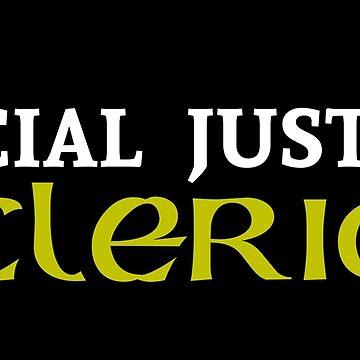 Social Justice Cleric by BasiliskOnline