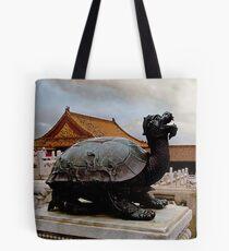 Dragon Turtle Tote Bag