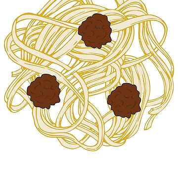 Spaghetti and Meatballs  by riverportgifts