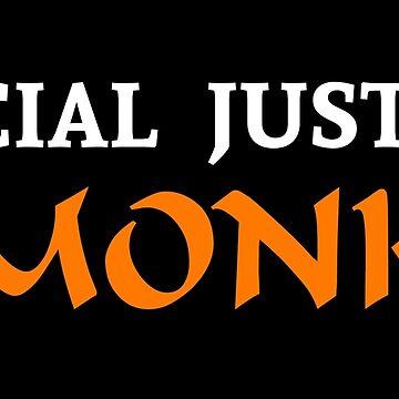 Social Justice Monk by BasiliskOnline