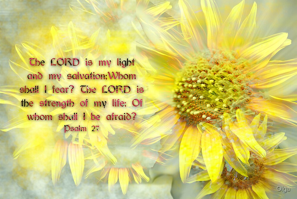 Lord is my light by Olga