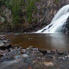 Caribou Falls, Minnesota. by Michael Treloar