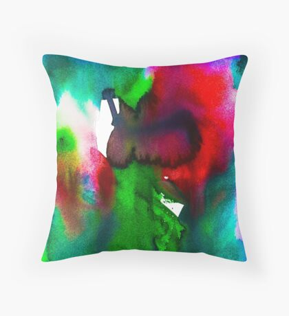 BAANTAL / Pollinate / Evolution #5 Throw Pillow