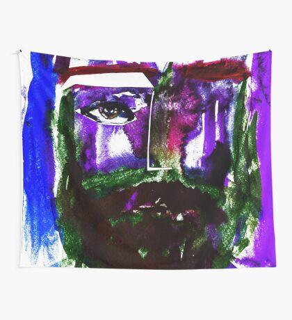 BAANTAL / Hominis / Faces #1 Wall Tapestry