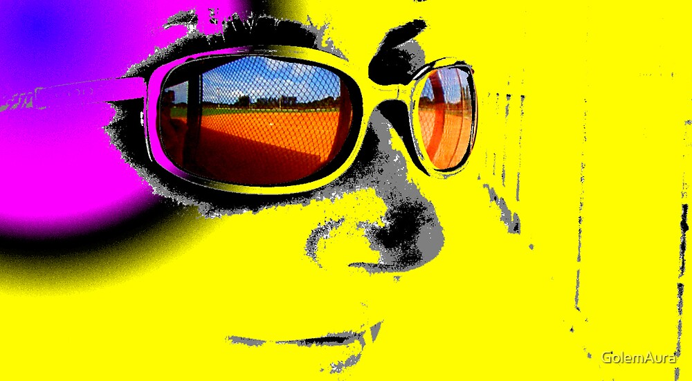 Field in Sunglasses by GolemAura