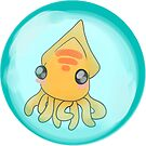 Baby squid in bubble by BubbleSquid