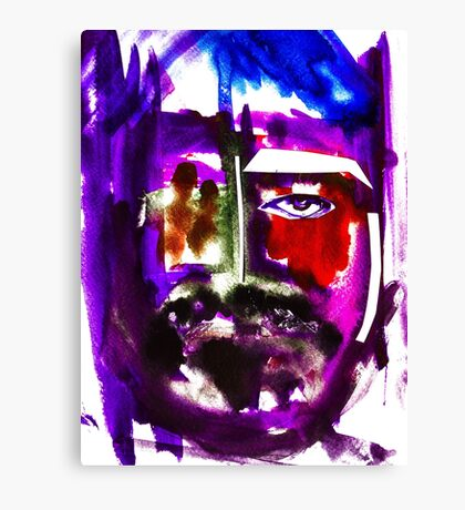 BAANTAL / Hominis / Faces #3 Canvas Print