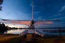 Leech Lake, Walker, Minnesota. by Michael Treloar