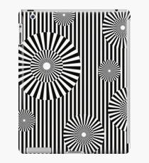 MOVING CIRCLES (BLACK) Vinilo o funda para iPad