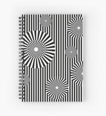 MOVING CIRCLES (BLACK) Cuaderno de espiral