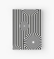 MOVING CIRCLES (BLACK) Cuaderno de tapa dura