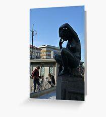 City Life Greeting Card