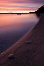 Leech Lake, Minnesota, Sunrise. by Michael Treloar