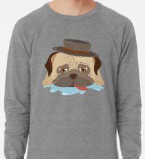 Pug Drool Drool Lightweight Sweatshirt
