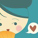 kimono doll ~ wallpaper v2 by claclina