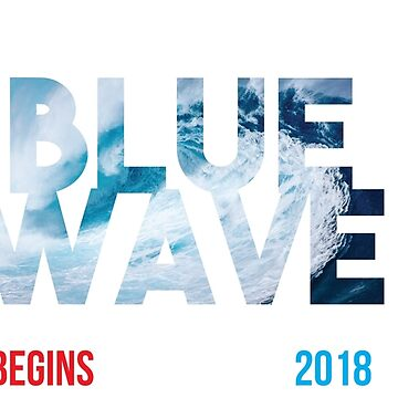 Blue Wave Florida 2018 by kjanedesigns