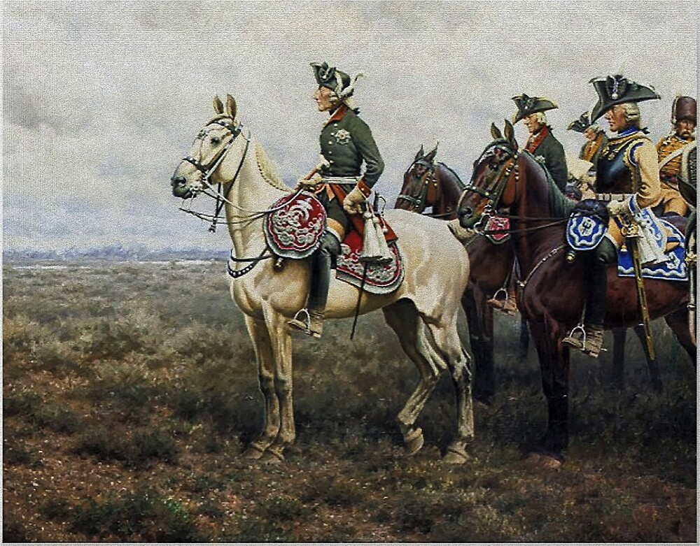 Frederick the Great at Battle of Leuthen by edsimoneit