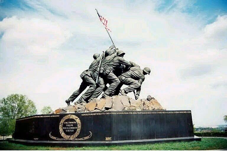 Iwo Jima National Monument by bigdaddy8x14