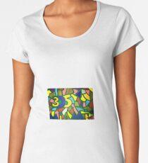 Miami 305 drawing  Women's Premium T-Shirt