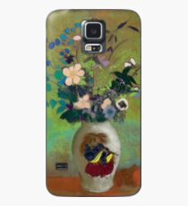 "Odilon Redon ""Vase au guerrier japonais"" Case/Skin for Samsung Galaxy"