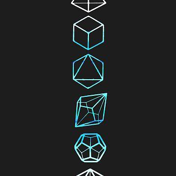 D&D Dice Line by Blue906