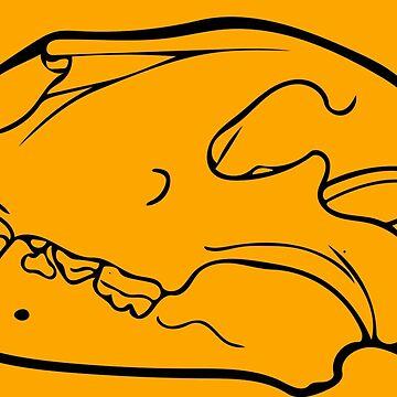 Lion Skull by LoraMaze