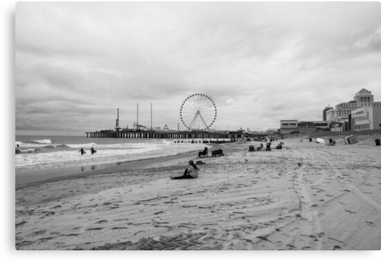 Beachside black and white photography- Summer Memories by lentaurophoto