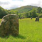 Brecon Standing Stones by RedHillDigital