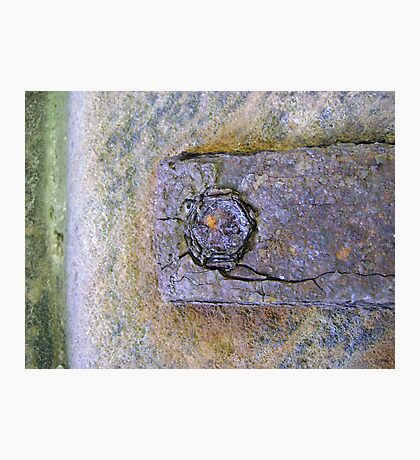 eye of rust Photographic Print