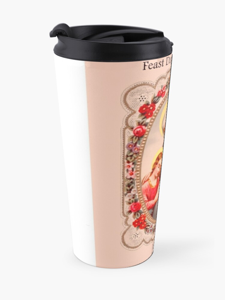 Alternate view of Good St. Anne Feast Day July 26th Travel Mug