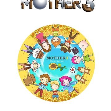 Mother 3 Chibis by theglisett1