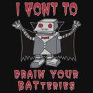 Robot Vampire by jarhumor