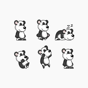 Panda Pattern by MileHighTees