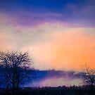 Evening Sky over Cheltenham by leizure