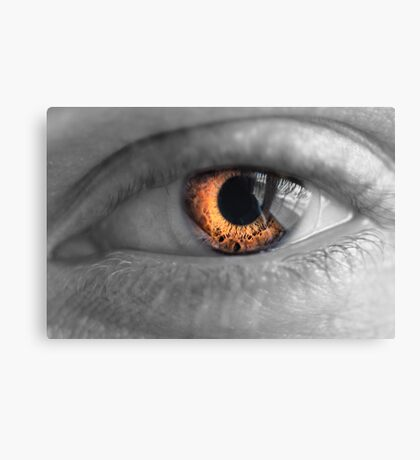 Eyes on Fire Canvas Print