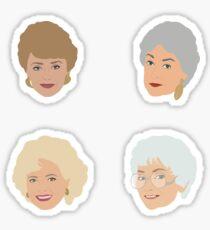 Golden Girls Sticker Set Sticker