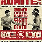 Kumite Fight Poster by alhern67