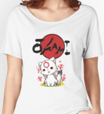 Chibiterasu Vers. 2 Women's Relaxed Fit T-Shirt