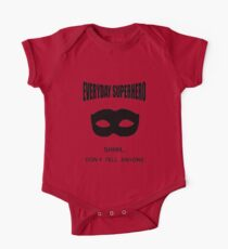 Everyday Superhero Short Sleeve Baby One-Piece