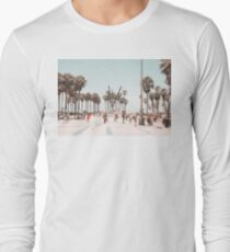 Venice Beach Boardwalk Long Sleeve T-Shirt