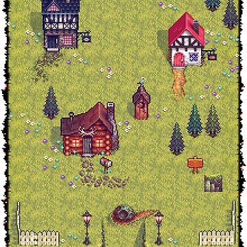 Pixel Town by BenHenry